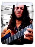 Street Musician Series #1 Duvet Cover