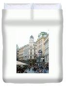 Street Of Vienna Duvet Cover