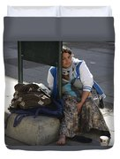 Street People - A Touch Of Humanity 10 Duvet Cover