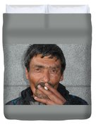 Street People - A Touch Of Humanity 17 Duvet Cover