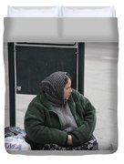 Street People - A Touch Of Humanity 9 Duvet Cover