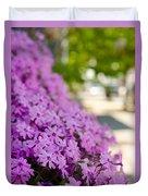 Street Wildflower Duvet Cover
