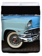 Streets Of 1956 Duvet Cover