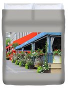 Streets Of Montreal 1 Duvet Cover