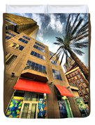 Streets Of Nola Duvet Cover