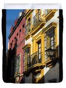 Streets Of Sevilla Duvet Cover