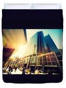 Streets Of Toronto Duvet Cover