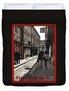 Streets Of York Duvet Cover