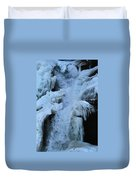 Strength Of Water And Ice Duvet Cover