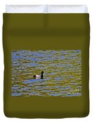 Striking Scaup Duvet Cover
