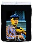 My String Instrument Duvet Cover