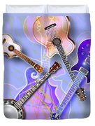Stringed Instruments Duvet Cover