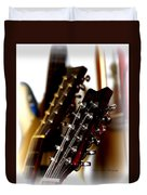 Strings Galore - Guitar Duvet Cover