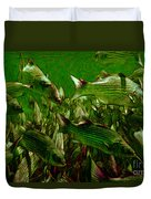 Striped Bass - Painterly V2 Duvet Cover