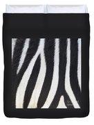 Stripes On Zebra Duvet Cover