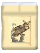 Strix Virginiana Owl Duvet Cover