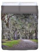 Plantation Drive Duvet Cover