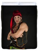 Strong Male Pirate 1 Duvet Cover