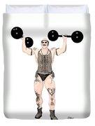 Strongest Man Native  Duvet Cover