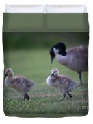 Strutting Our Stuff Duvet Cover