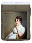 Stuart's Eleanor Parke Custis Lewis Or Mrs. Lawrence Lewis Duvet Cover