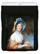 Stuart's Henrietta Marchant Liston Or Mrs. Robert Liston Duvet Cover
