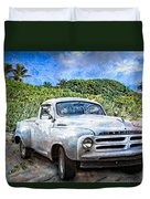Studebaker Goes To The Beach Duvet Cover