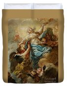 Study For The Assumption Of The Virgin Duvet Cover