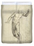 Study For The Last Judgement  Duvet Cover