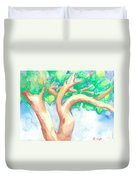 Study Of A Tree Duvet Cover