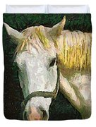 Study Of The Horse's Head Duvet Cover