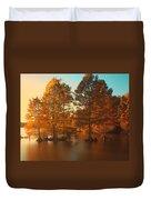 Stumpy Sunset Duvet Cover