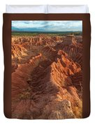 Stunning Red Rock Formations Duvet Cover
