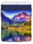 Stunning Reflections Duvet Cover