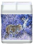 Styled Environment- Modern Kudus V3 Duvet Cover