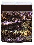 Styled Environment-the Modern Trendy Cheetah Duvet Cover