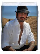 Suave Duvet Cover by Laurie Search