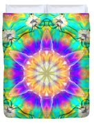 Subconscious Emerald Duvet Cover