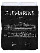 Submarine Patent 8 Duvet Cover