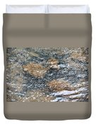 Submerged Stone Abstract Duvet Cover