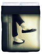 Subway Feet Duvet Cover