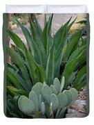 Succulent Greens Duvet Cover