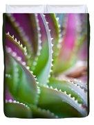 Succulent Swirls Duvet Cover