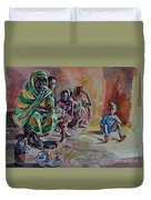 Sudanese Coffee Duvet Cover