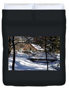 Sudbury - Grist Mill In The Woods Duvet Cover