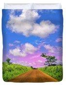 Sugar Cane Sunrise Duvet Cover