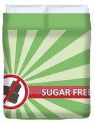 Sugar Free Banner Duvet Cover