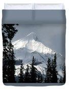 Sugar Icing Mountain Top Duvet Cover