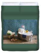 Sugar Scrub Duvet Cover