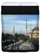 Suleymanhe Mosque, The Bizaar Quarter Duvet Cover